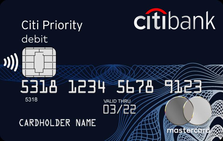 Банковская карта Citi Priority от Ситибанка
